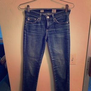 AG cropped jeans Sz 23